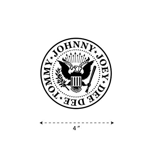 ((TK-269) Ramones - Waterproof Vinyl Sticker for Laptops Tablets Cars Motocycles Bicycle Skateboard Luggage Or Any Flat Surface (4