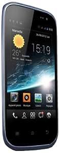 """Wiko Slim - Smartphone libre (pantalla táctil de 4"""", cámara 8 Mp, 4 GB, 2 procesadores de 1 GHz, 512 MB de RAM), Azul"""