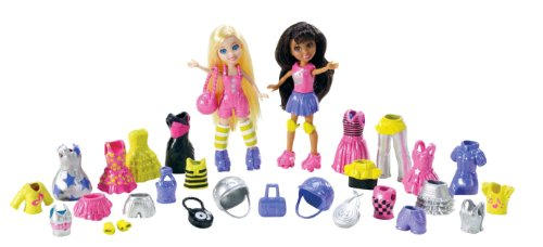 Polly Pocket Roller Disco Party Fashion Pack by Polly Pocket