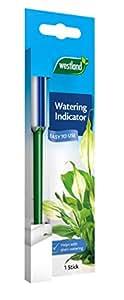 Westland Cuando a Indicador de riego Planta de Agua, Azul, 1x 6x 19cm