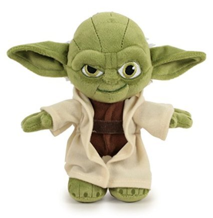 """STAR WARS - Plush Toy character """"Yoda """"  of the movie """"Star"""
