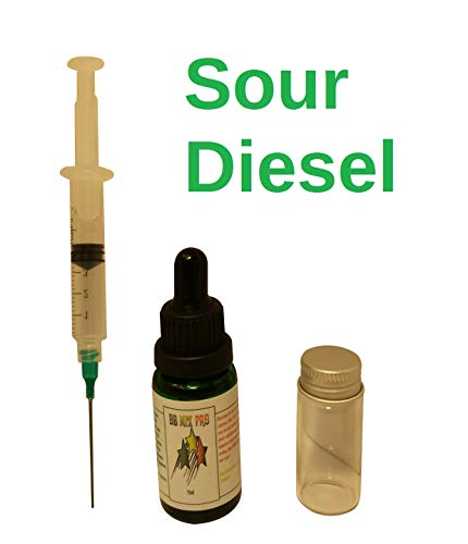 Sour Concentrate - Sour Diesel Terpene Infused Liquidizer 15ml Mixing Kit 99% Pure Colorado Terpenes