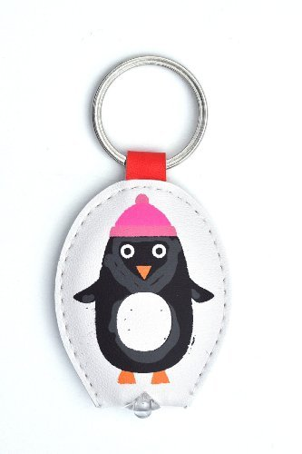 WPL Penguin In Hat Keylight - Keyring with Built-in LED Torch - Gift Idea