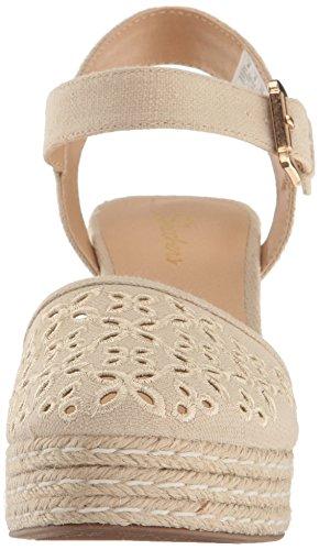 Crème Cali Sandal Turtledove Women's Platform Skechers Xnq7d7