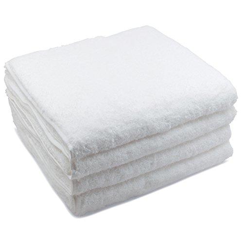 "Winter Park Towel Co. - Classic 500GSM Lightweight Towels (4, Bath Towels (27"" x 54""))"