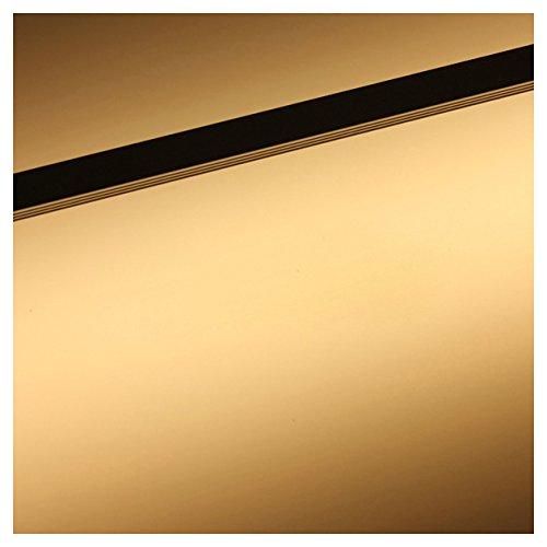 50CM 12V 36 LED 5050 SMD Hard Strip Bar Light Aluminum Rigid Warm White SODIAL R