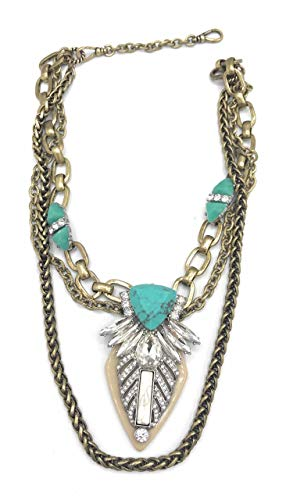 (Chloe + Isabel Palm Royale Convertible Necklace - N289)