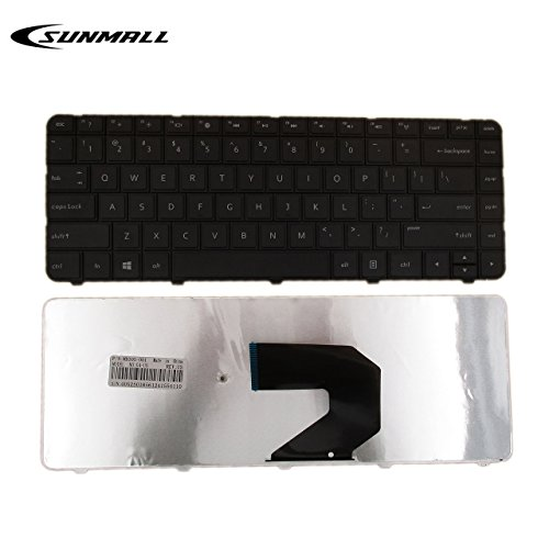 SUNMALL New Laptop Replacement Keyboard for HP 2000-100 2000-200 2000-300 2000T-300 2000-400 2000-340CA 2000-350US 2000-351NR 2000-352NR 2000-2d07CA 2000-2d09CA 2000-2d09WM Series Black US Layout ()