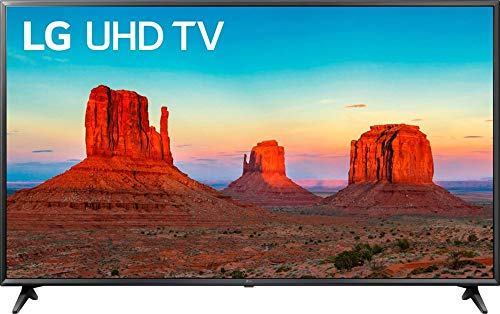 LG Smart TV 65' 4K UHD 65UK6090PUA (Renewed)