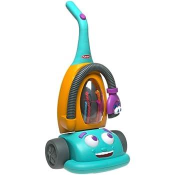 Amazon Com Hasbro Playskool Crew Dusty The Talking Vacuum
