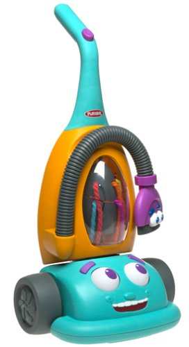 Hasbro Playskool Crew Dusty The Talking Vacuum