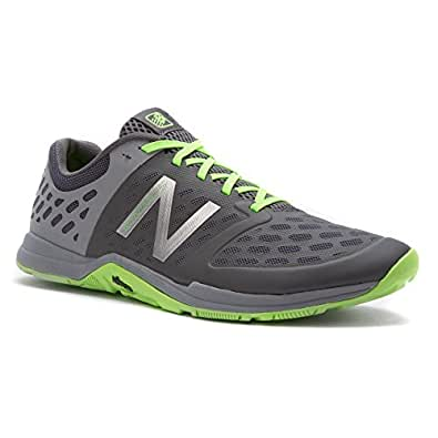 New Balance MX20 V4 Men's Minimus Crosstrainer, Size: 16 Width: D Color: Steel/Orca/Chemical Green