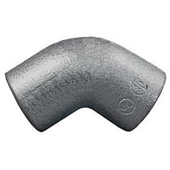 """5 pc Aluminum Rigid Conduit Elbow 45 Degree 1-1//2/"""""""