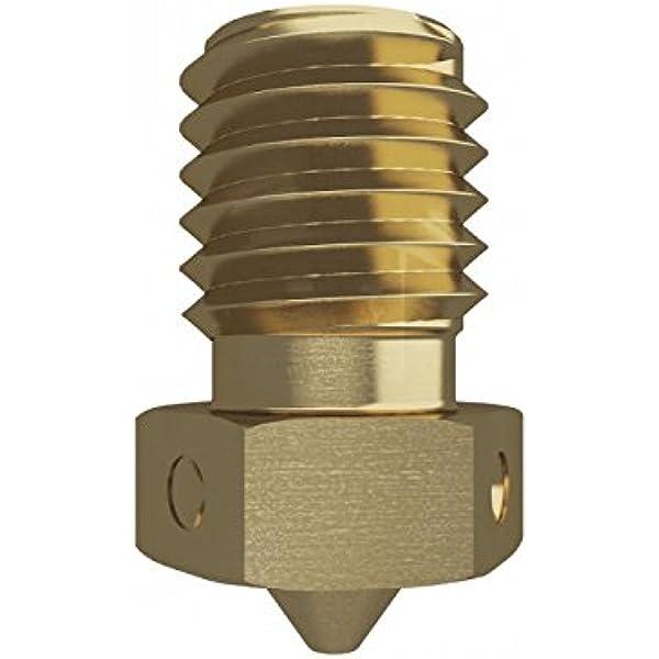 Genuine E3D Brass V6 Nozzle 1.75mm x 0.25mm V6-NOZZLE-175-250