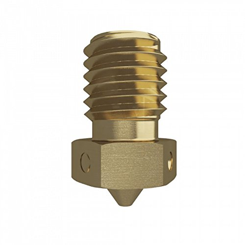 Genuine E3D Brass V6 Nozzle - 3.00mm x 0.50mm (V6-NOZZLE-300-500) by E3D