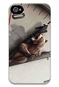 Angry Bear PC Hard new iphone 4 case for girls protective