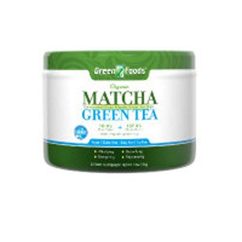 GREEN FOODS MATCHA GRN TEA,OG2,60SERV, 11 OZ