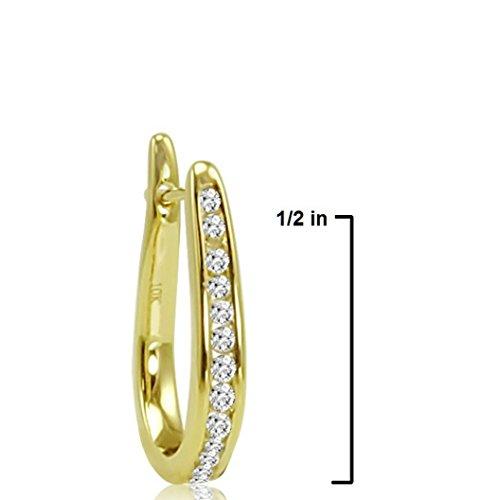 10k hoop earring