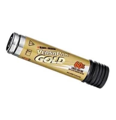 Black & Decker VP110 VersaPak Gold 3.6-Volt 2 Amp Hour NiMH Gold Battery