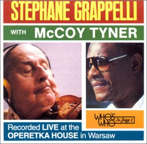 Stephane Grappelli & Mccoy Tyner by Who's Who in Jazz