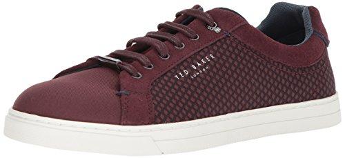 (Ted Baker Men's SARPIO Sneaker, Dark red, 12.5 M US)