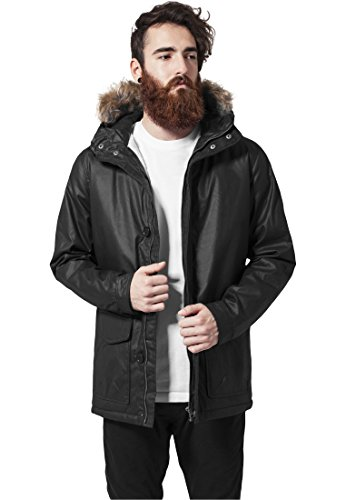 Mag Urban Classics tb896 Coated Cotton Parka Veste Homme Streetwear Winter Jacken