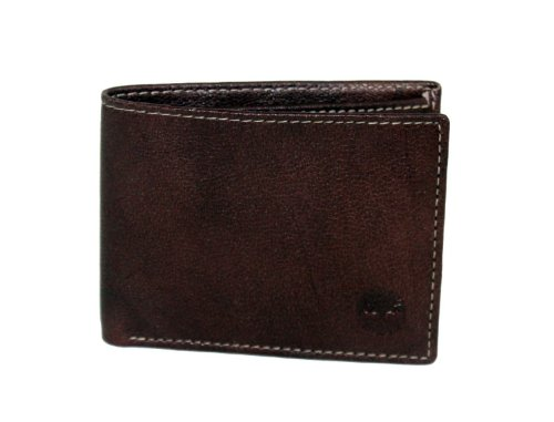Timberland Men s Blix Slimfold Wallet, Brown, One Size