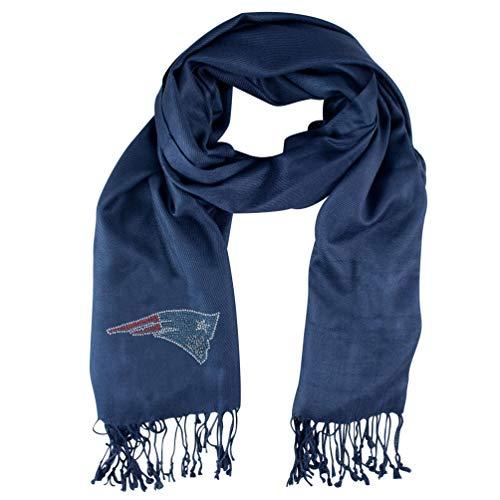 NFL New England Patriots Pashi Fan Scarf Crystal New England Patriots Football