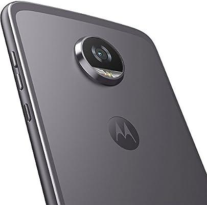 Motorola Moto Z2 Play Smartphone, 64 GB, 5.5 Pulgadas, Lunar Gray ...
