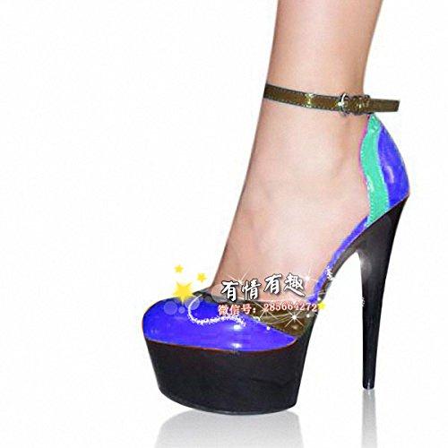 High - heel 15 15 15 cm hochhackigen schuhe show fashion show schuhe cb5f6e
