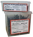 Drywall Screw, Bugle, #8, 3 In L, PK2000