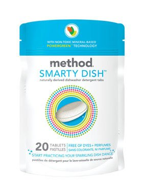 Method, Smarty Dish, Go Naked, 20.00 CT (Pack of 6)