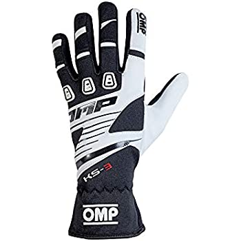 OMP OMPKK02743E096L Ks-3 Guantes My2018 Orange//Negro Sz L
