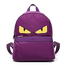 Women's Durable Cartoon Backpack Monster