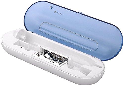 newgen medicals USB-Induktions-Reiselade-Etui für elektr. Zahnbürste