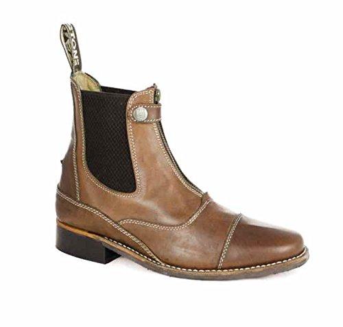 Stiefelette Jodhpur-Reithose equi-comfort in Leder Fett Kleidung Reiten Stiefel umbria-equitazione