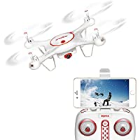Aukwing Syma X5UC 2.4Ghz RC Quadcopter Drone with HD camera Headless Mode for learner