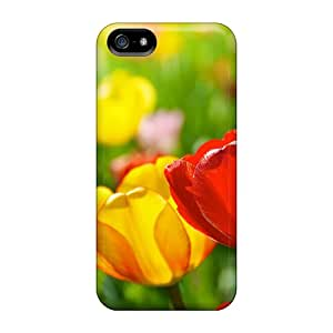 High Grade Lashanda Ame Nelson Flexible Tpu Case For Iphone 5/5s - Colors Of The Spring