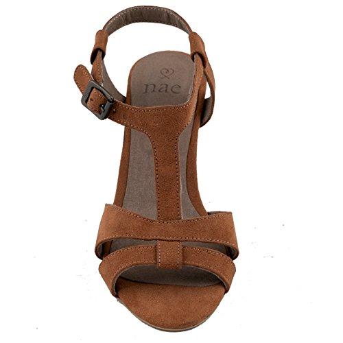 NAE Bona Brown - chaussures vegan. LIVRASION GRATUITE