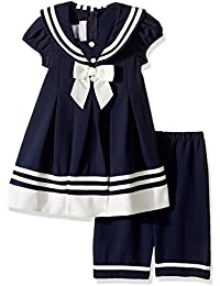 Baby Girls' Nautical Dress and Legging Set