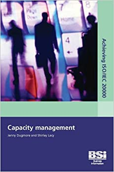 Book Achieving ISO/IEC 20000 - Capacity management