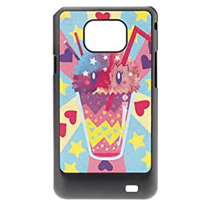 ZXM-Beba Caso duro del patrón para Samsung I9100 Galaxy S2
