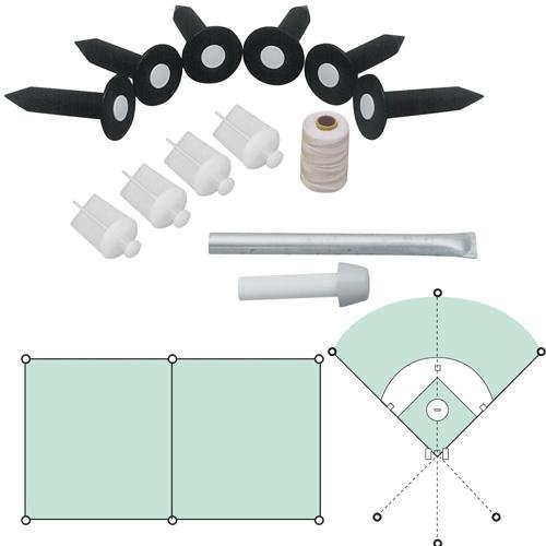 Baseball Field Lining Kit - Baseball Field Lining