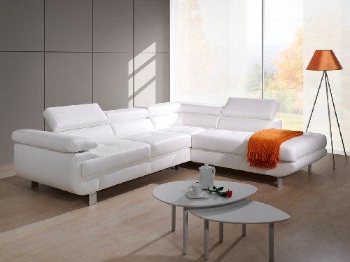 Ecksofa luxus  LUXUS Ecksofa mit Bettfunktion Sofa Couch Ledersofa UNSCHLAGBAR ...