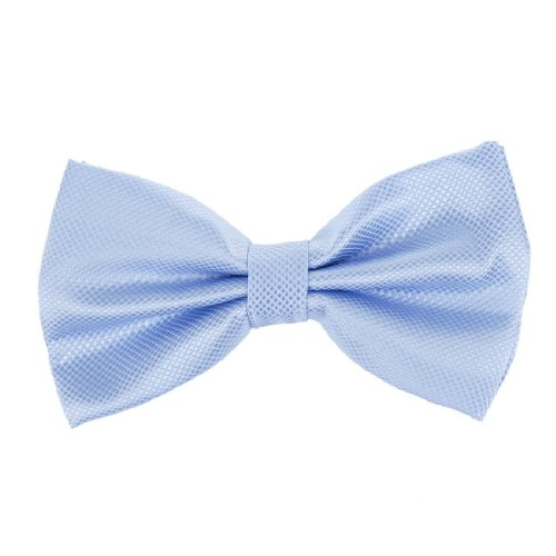 DBC2012 Blue Boys Bowtie Checkered Light sky blue Pre-tied Bow tie By Dan Smith (Smith Bow)