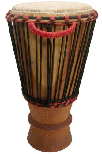 Hand-carved Bugarubu Drum From Africa - 13
