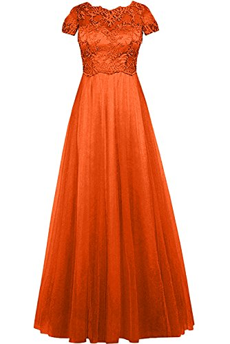 orange Z para Mujer Trapecio Vestido Topkleider FnqIXYq