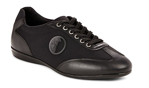 Versace-Collection-Mens-Leather-Rubber-Medusa-Logo-Low-Top-Sneaker-Shoes