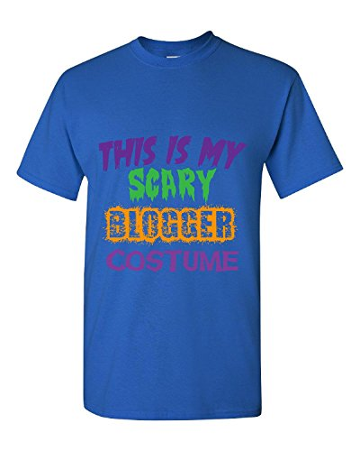 [This Is My Scary Blogger Halloween Costume - Adult Shirt 5xl Royal] (Fashion Bloggers Halloween Costumes)