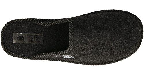 Herren Pantoffeln Wohlgefühl Handarbeit Qualität Natur Schwarz Natürlich Wollfilz Für Shoes Atmungsaktiv Leather 904a Rbj Warm EwXq40pw
